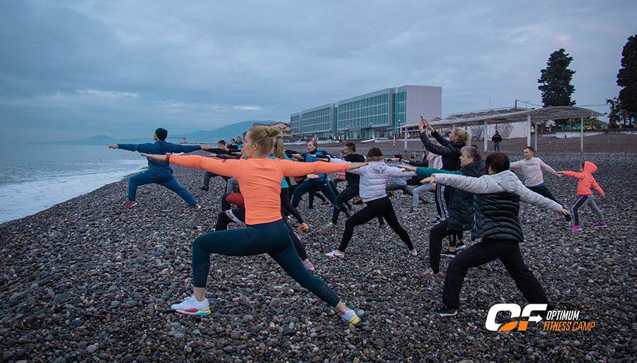 Свежий фотоотчет из Сочинского Optimum Fitness Camp